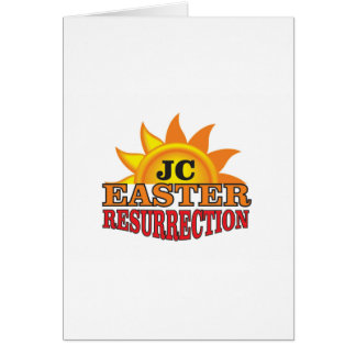 jc easter ressurection card