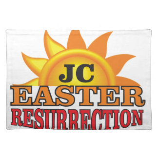 jc easter ressurection placemat