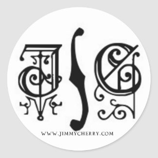 JC Gothic Logo Sticker
