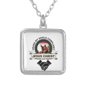 Jc hear souls complaint silver plated necklace