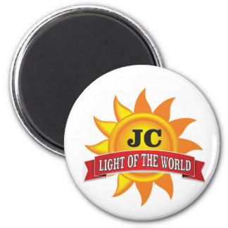 jc light of the world 2 inch round magnet