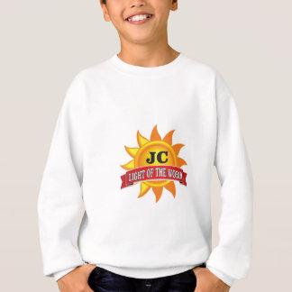 jc light of the world sweatshirt