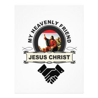JC my heavenly friend Letterhead