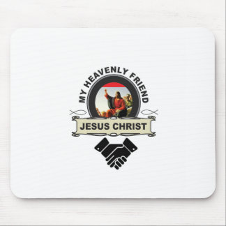JC my heavenly friend Mouse Pad