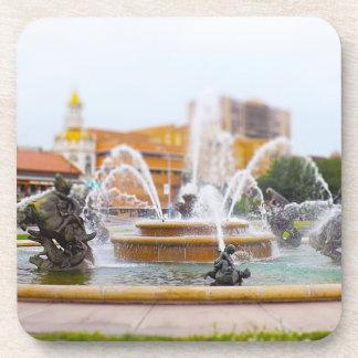 JC Nichols Fountain Country Club Plaza KC Drink Coaster