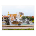 JC Nichols Fountain Country Club Plaza KC Post Card