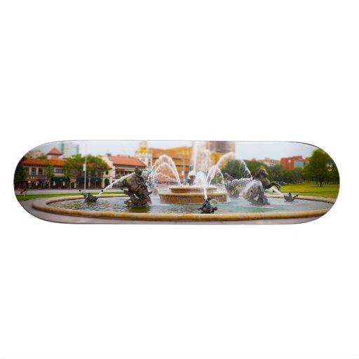 JC Nichols Fountain Country Club Plaza KC Skateboard Decks