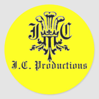 JC Productions 2 Round Sticker