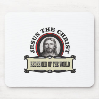 JC redeemer of the world Mouse Pad