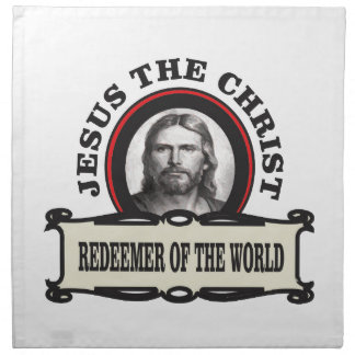 JC redeemer of the world Napkin