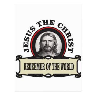 JC redeemer of the world Postcard