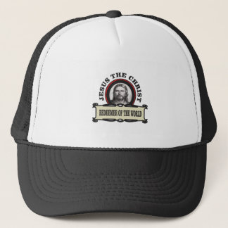 JC redeemer of the world Trucker Hat