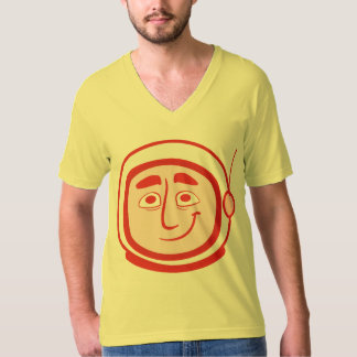 JC Special - Worker Studio COSMO V-Neck Yellow/Red T-Shirt
