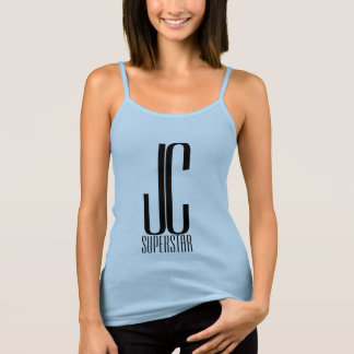 JC SuperStar - in blue with crown #5 Tank Top