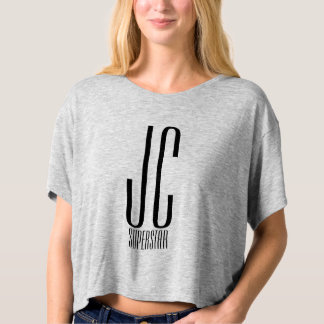 JC SuperStar - King of Kings with crown on back T-shirt
