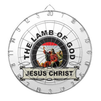 jc the lamb of god dartboard