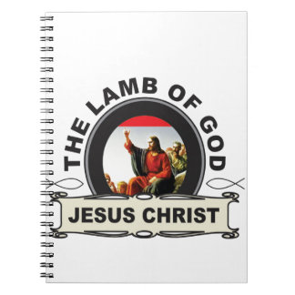 jc the lamb of god notebook