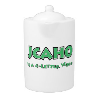 JCAHO is a 4-Letter Word
