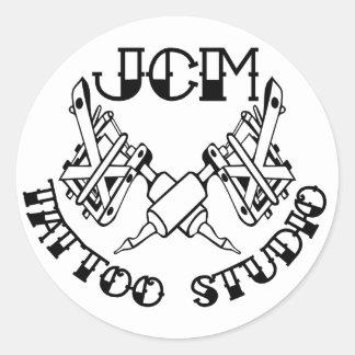JCM Tattoo Studio Branded sticker