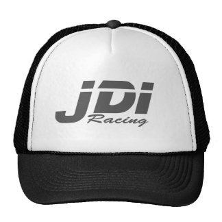 JDI Trucker Hat- Dark Grey Logo Trucker Hat
