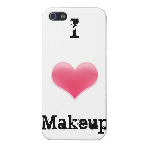"""Je coque iphone aime maquillage"" Coques iPhone 5"