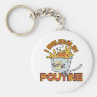 Je crois au Poutine Porte-clés