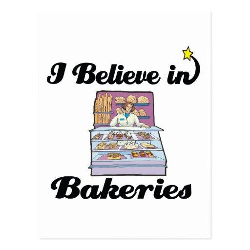 je crois aux boulangeries cartes postales
