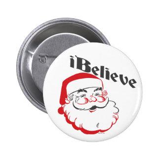 Je crois des boutons de Père Noël Badge