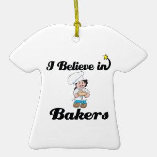 je crois en boulangers décoration pour sapin de noël
