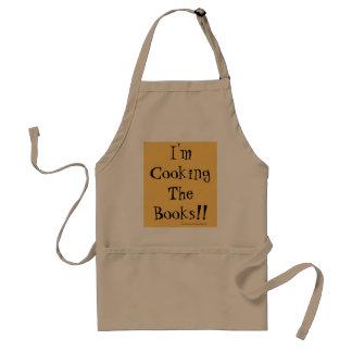 Je fais cuire les livres ! tablier