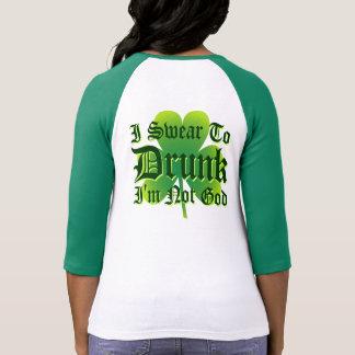 Je jure pas à Dieu Im IVRE ! T-shirts
