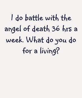 Je lutte avec l'ange de la mort pendant 36 heures tee shirts
