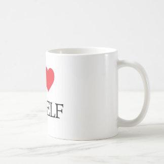 Je m'aime mug blanc