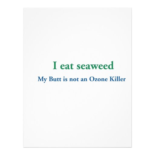 Je mange l'algue prospectus