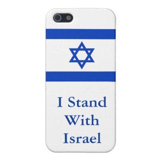 Je me tiens avec l'Israël Étuis iPhone 5