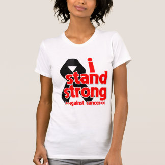 Je me tiens fort contre le Cancer de mélanome T-shirts