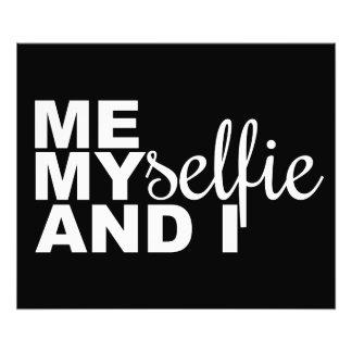 Je Myselfie et I Selfie drôle Photo D'art