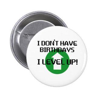 Je n ai pas des anniversaires… badges