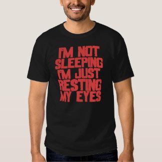 Je ne dors pas (le rouge) t-shirt