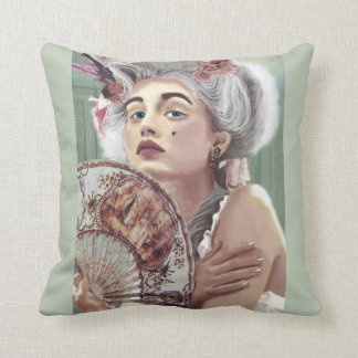 Je Ne Regrette Rien Throw Pillow