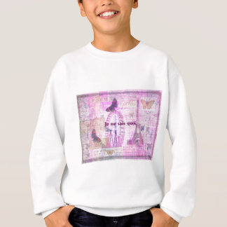 Je ne sais quoi  - French Phrase - Paris Theme art Sweatshirt