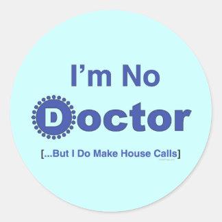 Je ne suis aucun docteur adhésif pour pare-chocs