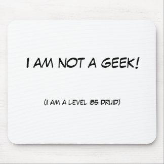 Je ne suis pas un geek tapis de souris