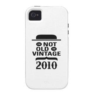 Je ne suis pas vieux j ai 2010 ans vintage coques Case-Mate iPhone 4
