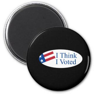 Je pense que j'ai voté magnet rond 8 cm