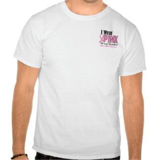 Je porte le rose pour mon cancer du sein de la gra t-shirt