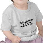 Je sais la lutte t-shirts