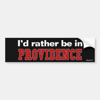 Je serais plutôt en Providence Autocollants Pour Voiture