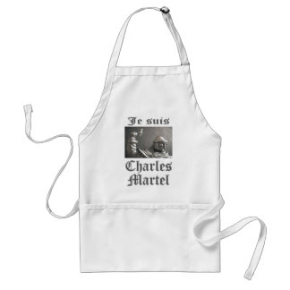 Je Suis Charles Martel (picture) Standard Apron