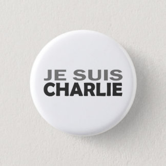 Je Suis Charlie 1 Inch Round Button